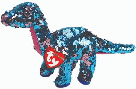 Flippable Sequin Tremor Dinosaur - Beanie Boo - Celebrations and Toys 9a359cd1bfbb
