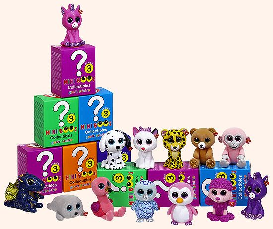 Ty Mini Boo's Collectibles - Series 3