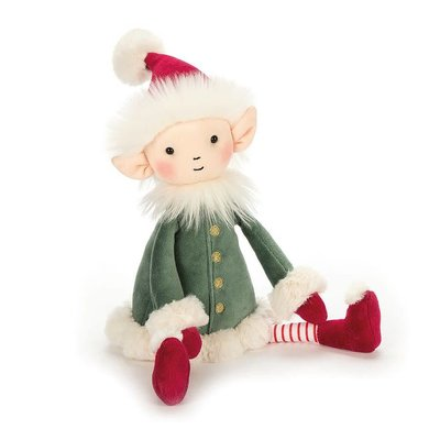 Jellycat - Jingle Jingle Jellycat - Leffy Elf - Small