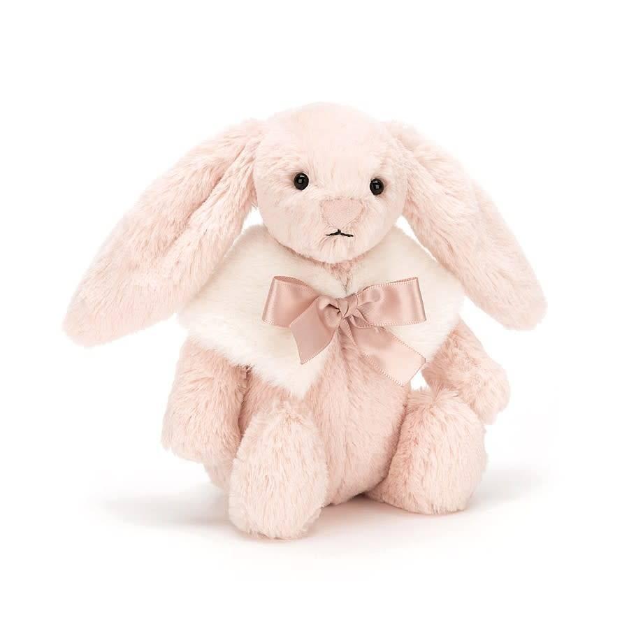 Jellycat Bashful Blush Snow Bunny - Small
