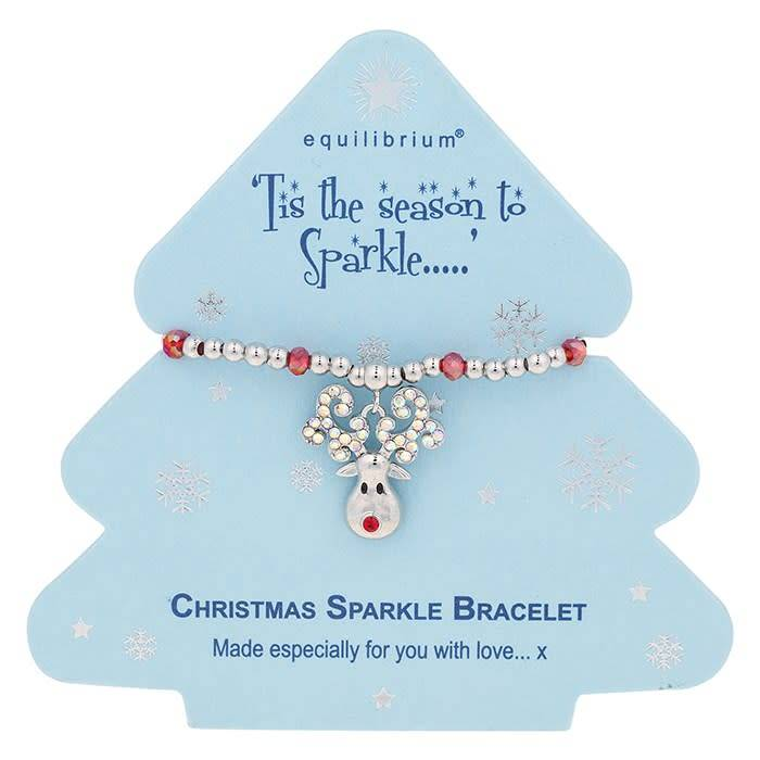 Equilibrium Season To Sparkle - Reindeer Bracelet