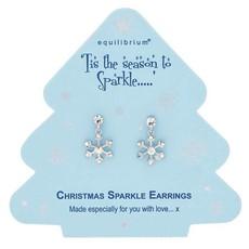 Equilibrium Season To Sparkle - Snowflake Earrings
