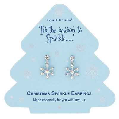 Equilibrium Season To Sparkle - Snowflake Earrings