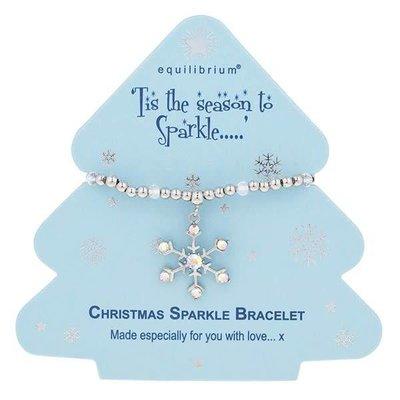 Equilibrium Season To Sparkle - Snowflake Bracelet