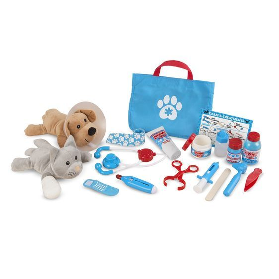 Melissa & Doug Pet Vet Play Set - Examine & Treat