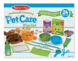 Melissa & Doug Pet Care Play Set - Feeding & Grooming