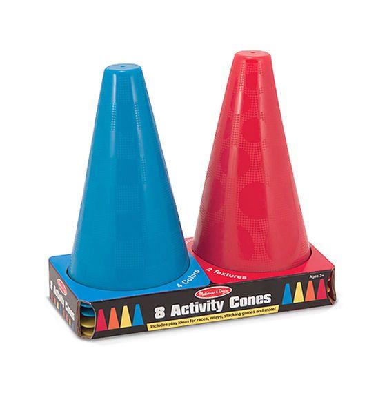 Melissa & Doug Activity Cones - Set of 8