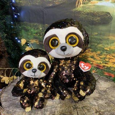 Ty Flippable Sequin Dangler Sloth - Beanie Boo