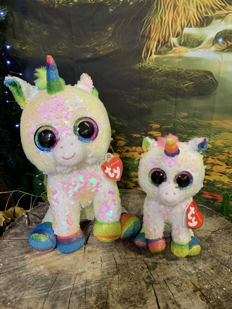 0a2a5301ca6 Flippable Sequin Pixy Unicorn - Beanie Boo Buddy - Celebrations and Toys