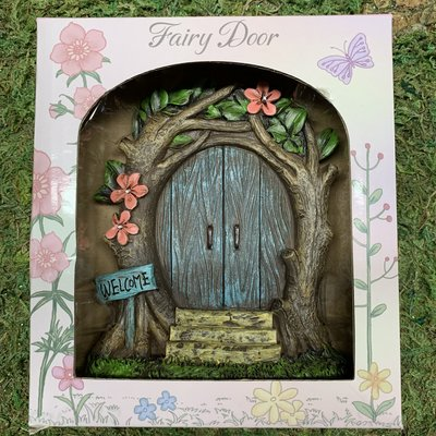 Alator Giftware Boxed Fairy Door - Blue