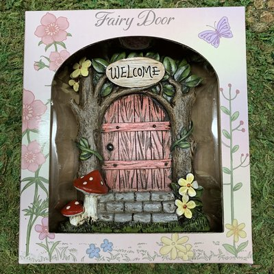 Alator Giftware Boxed Fairy Door - Pink
