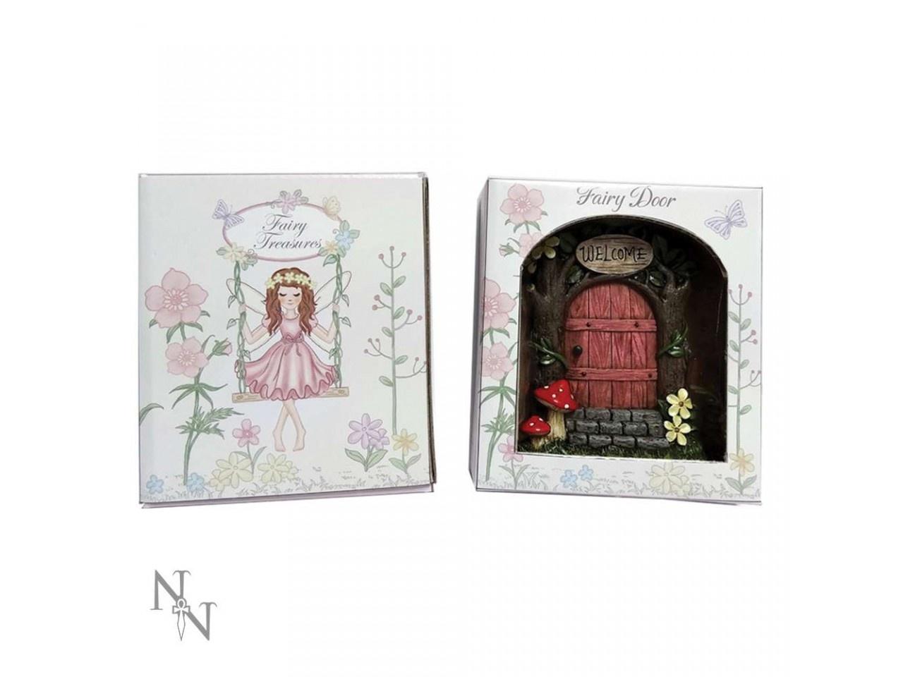 Boxed Fairy Door - Pink