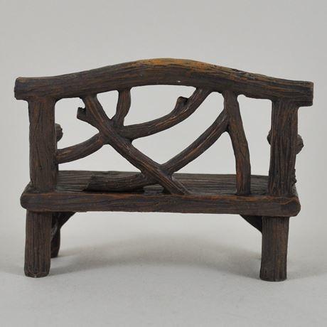 Fiesta Studios Fairy Garden Bench & Chair