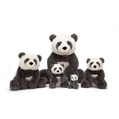 Jellycat - Beautifully Scrumptious Jellycat - Harry Panda Cub - Tiny