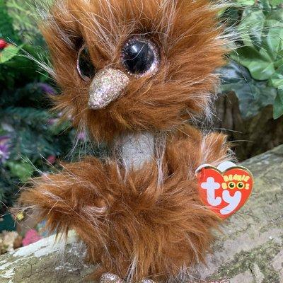 Ty Beanie Boo - Orson the Brown Ostrich