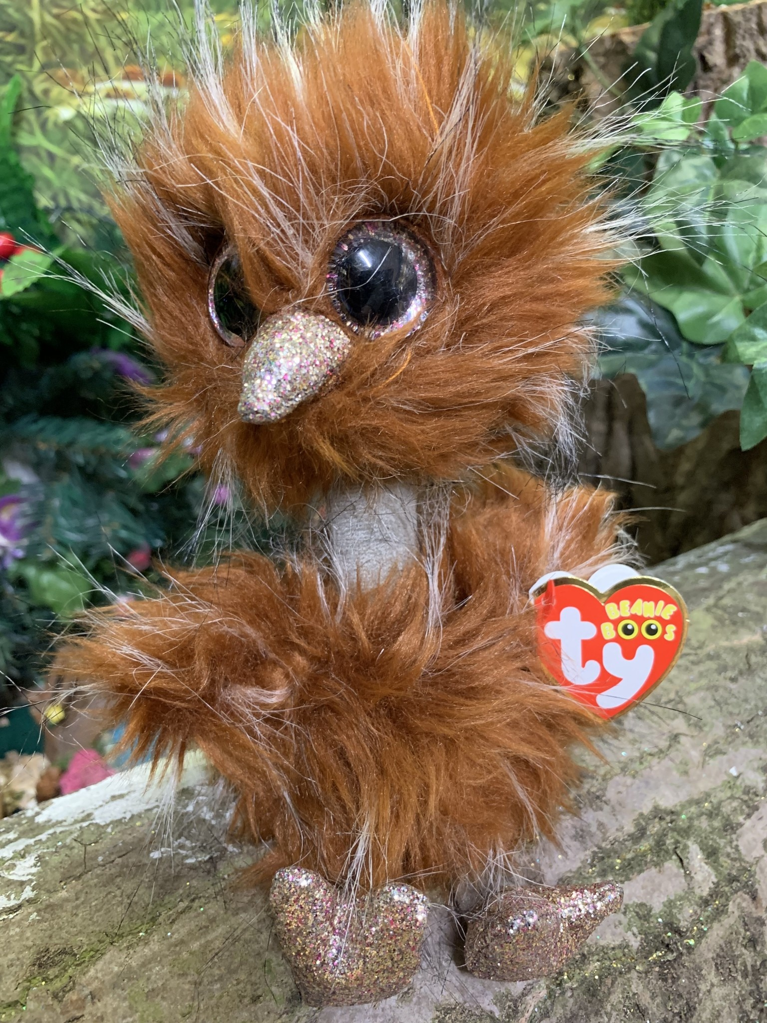 Beanie Boo Orson the Brown Ostrich Celebrations and Toys