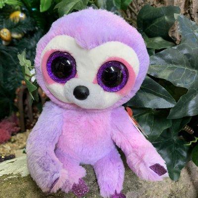 Ty Beanie Boo - Dreamy the Purple Sloth