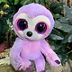 Ty Beanie Boo - Dreamy the Purple Sloth