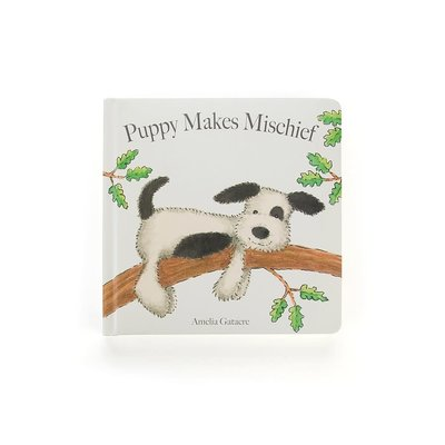 Jellycat - Story Book Jellycat - Puppy Makes Mischief - Book