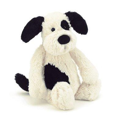 Jellycat - Bashful Jellycat - Bashful Black & Cream Puppy - Medium