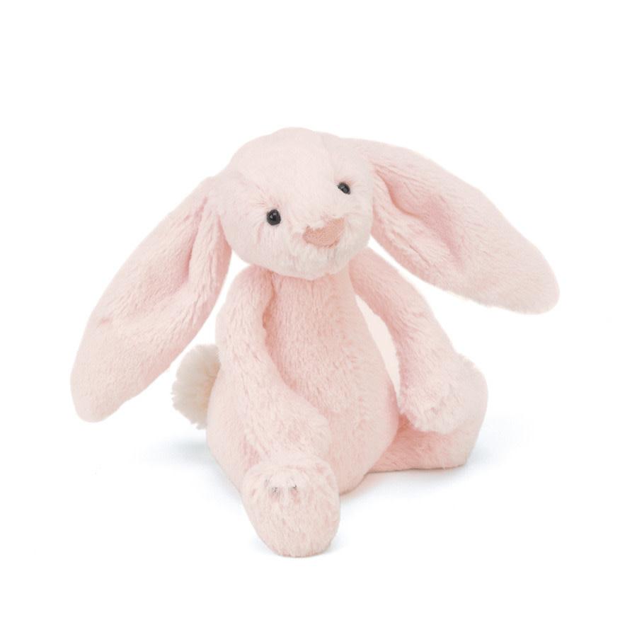 Jellycat Bashful Pink Bunny - Rattle