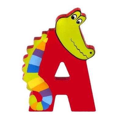 Orange Tree Toys Wooden Alphabet Letter - A