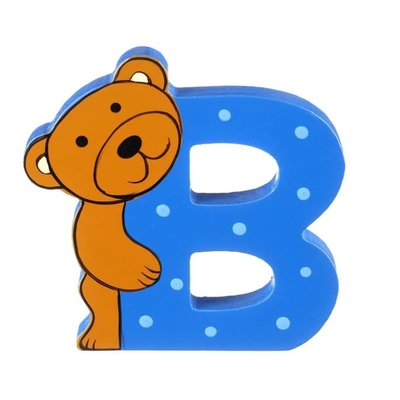 Orange Tree Toys Wooden Alphabet Letter - B