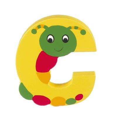 Orange Tree Toys Wooden Alphabet Letter - C
