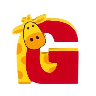 Orange Tree Toys Wooden Alphabet Letter - G