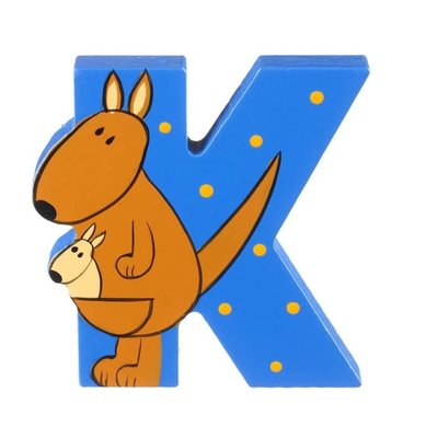 Orange Tree Toys Wooden Alphabet Letter - K