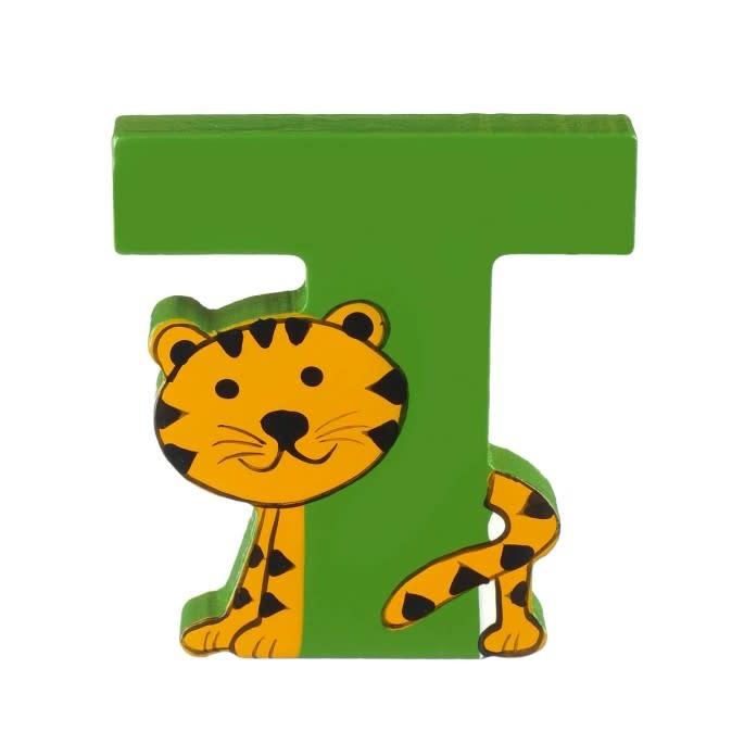 Wooden Alphabet Letter - T