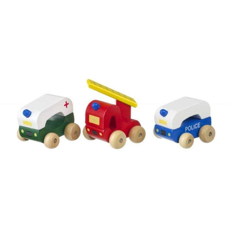 Orange Tree Toys First Emergency Vehicles - Boxed