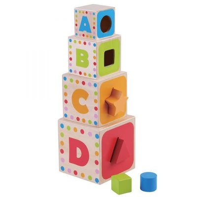 Jumini Wooden Stacking Cubes