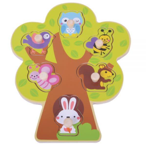 Jumini Tree Peg Puzzle