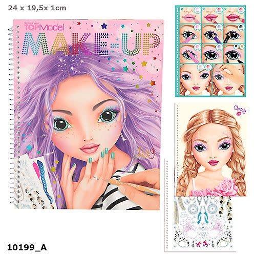 Top Model TopModel Make Up Colouring Book