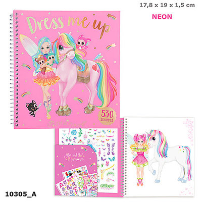 Ylvi and the Minimoomis Ylvi and the Minimoomis - Dress Me Up Sticker Book