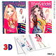 Top Model TopModel Pocket Colouring Book