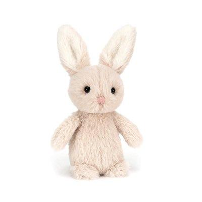 Jellycat - Pocket Pals Jellycat - Oatmeal Fluffy Bunny