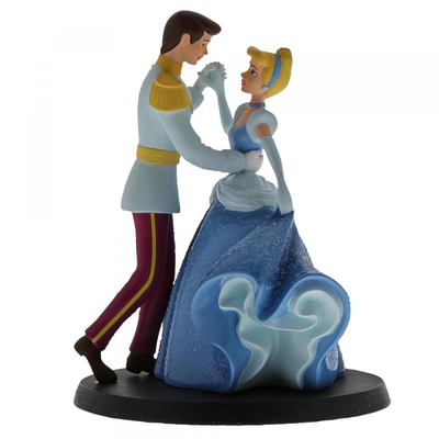 Disney Enchanting Collection Disney - Cinderella & Prince Charming - Wedding Cake Topper