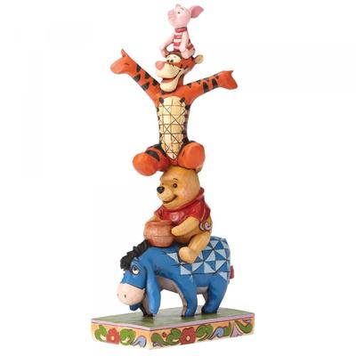 Disney Traditions Disney - Winnie the Pooh, Tigger, Piglet & Eeyore - Built By Friendship