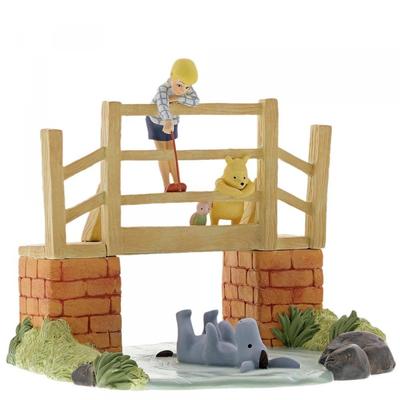 Disney - Poohsticks - Classic Winnie the Pooh & Christoper Robin Figure