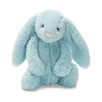Jellycat - Bashful Jellycat - Bashful Aqua Bunny - Small