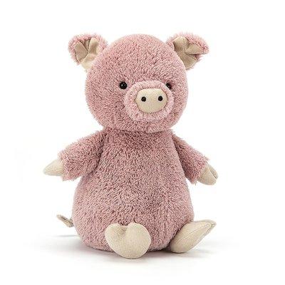 Jellycat - Little Legs Jellycat - Peanut Pig - Small