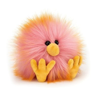 Jellycat - Colourful & Quirky Jellycat - Yellow & Pink Crazy Chick