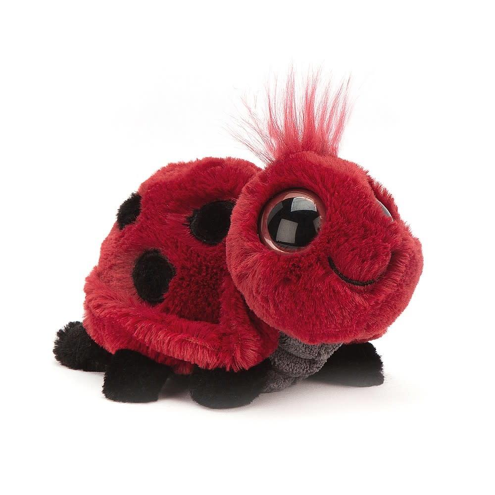Jellycat Frizzles Ladybird