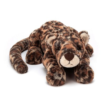 Jellycat - Big & Bold Jellycat - Livi Leopard - Medium