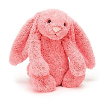 Jellycat - Bashful Jellycat - Bashful Coral Bunny - Medium