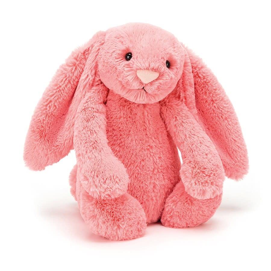 Jellycat Bashful Coral Bunny - Medium