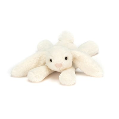 Jellycat - Beautifully Scrumptious Jellycat - Smudge  Bunny Cream - Tiny
