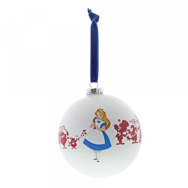 Disney - Bauble - Alice in Wonderland - We're all Mad Here